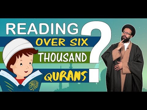 Reading over six thousand Qurans in just one month? | One Minute Wisdom | English