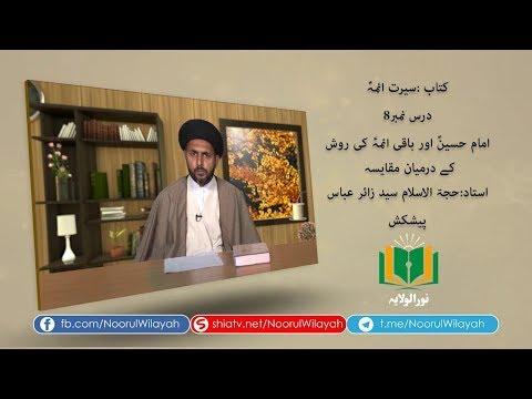 کتاب سیرت ائمہؑ [8]   امام حسینؑ اور باقی ائمہؑ کی روش کے درمیان مقای