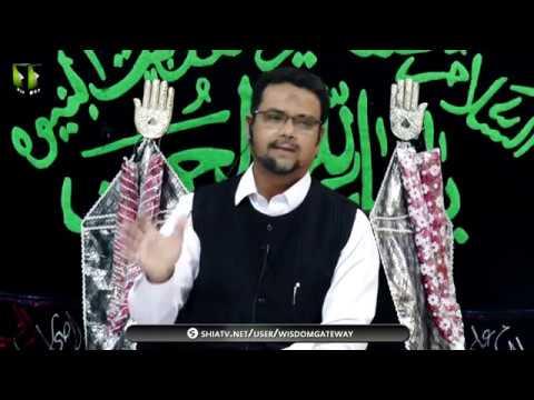 [03] Topic: Imam Ali (as) Mazloom Tareekh | Dr. Zahid Ali Zahidi | Muharram 1441/2019 - Urdu
