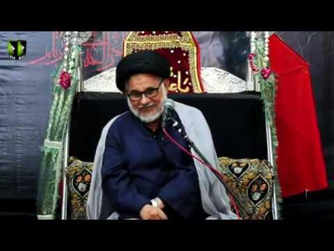 [06] Topic: Marjaeyat , Masomeen (as) ke Nigah May | H.I Hasan Zafar Naqvi | Muharram 1441/2019 - Urdu