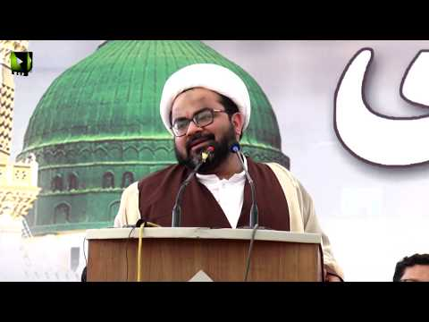 [Speech] Youm-e-Mustafa (saww)   H.I Muhammad Raza Dawoodani   University of Karachi - Urdu