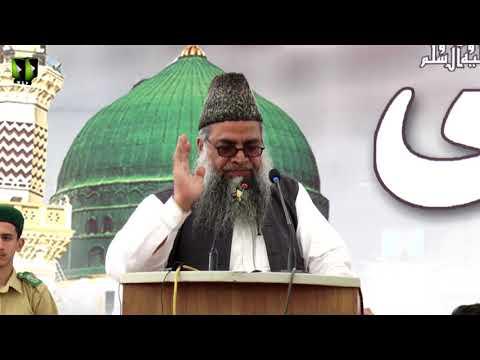 [Speech] Youm-e-Mustafa (saww)   Janab Naseem Siddiqui   University of Karachi - Urdu