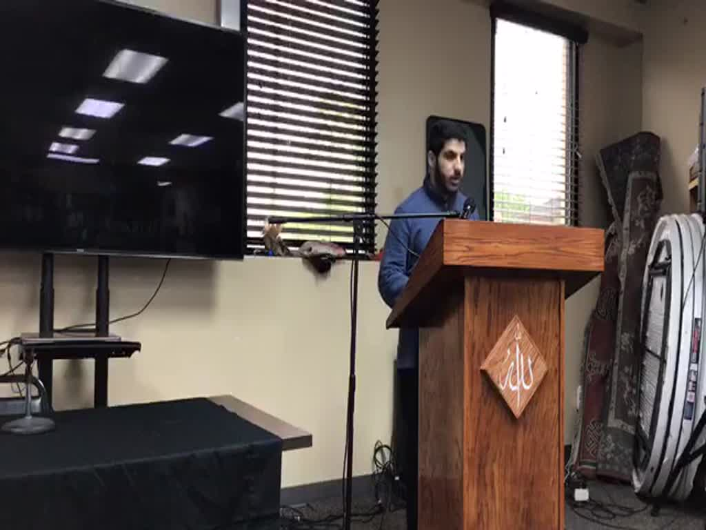 Usama Abdulghani  Ramadan Speech 2019 Dearborn Library USA - English