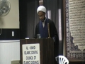 Sheikh Osama Abdul Ghani - Imam Ali And Pious Persons - Friday Sermon - Dec 25 2009 - English